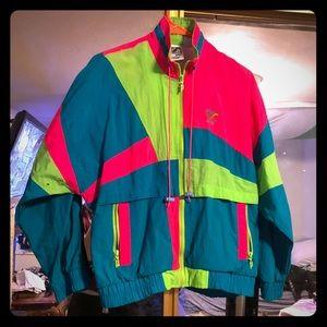Prince colorblock vintage 80s windbreaker S